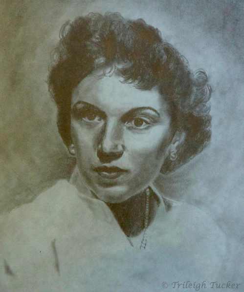 Portrait of Agnes Adámy