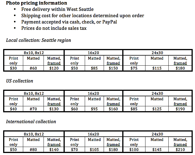 Photo pricing information-2