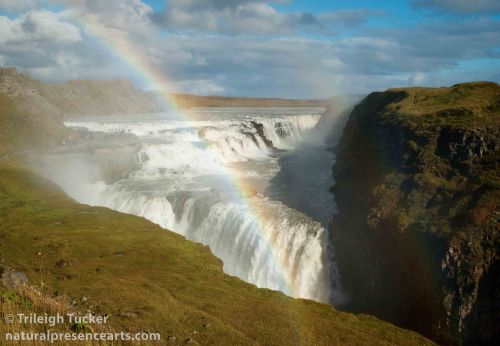 Land of rainbows and waterfalls: Gullfoss, Iceland