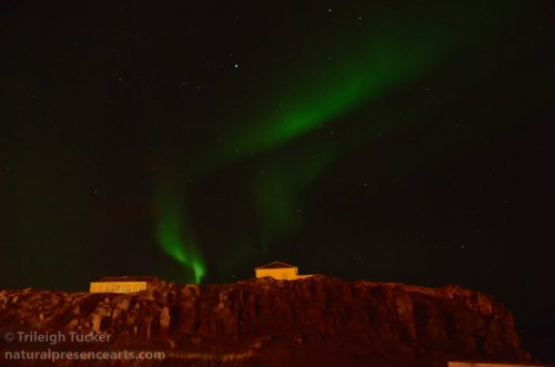 Land of magical light: Aurora Borealis over Stykkisholmur, Iceland